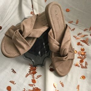Chinese Laundry slide sandals